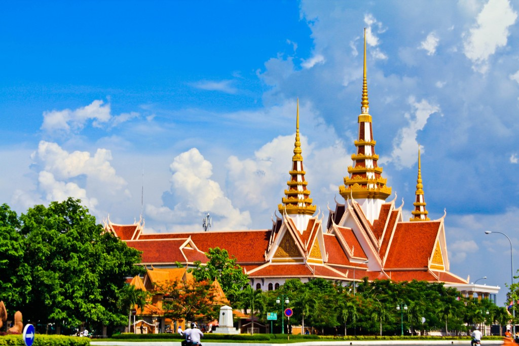 National Assembly of Cambodia by Sorn Seang Heng