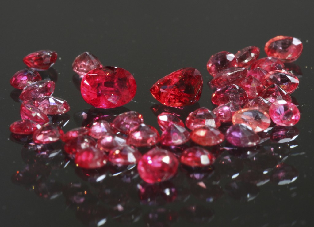 The best quality Pailin rubies are the most valuable gemstones found in Cambodia. Photograph September 2014. ODC.