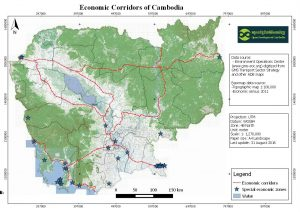 Economic Corridors of Cambodia_