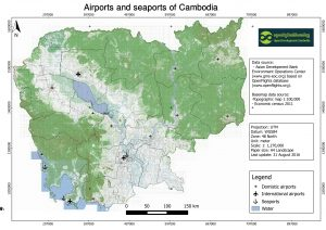 airports and seaports of Cambodia