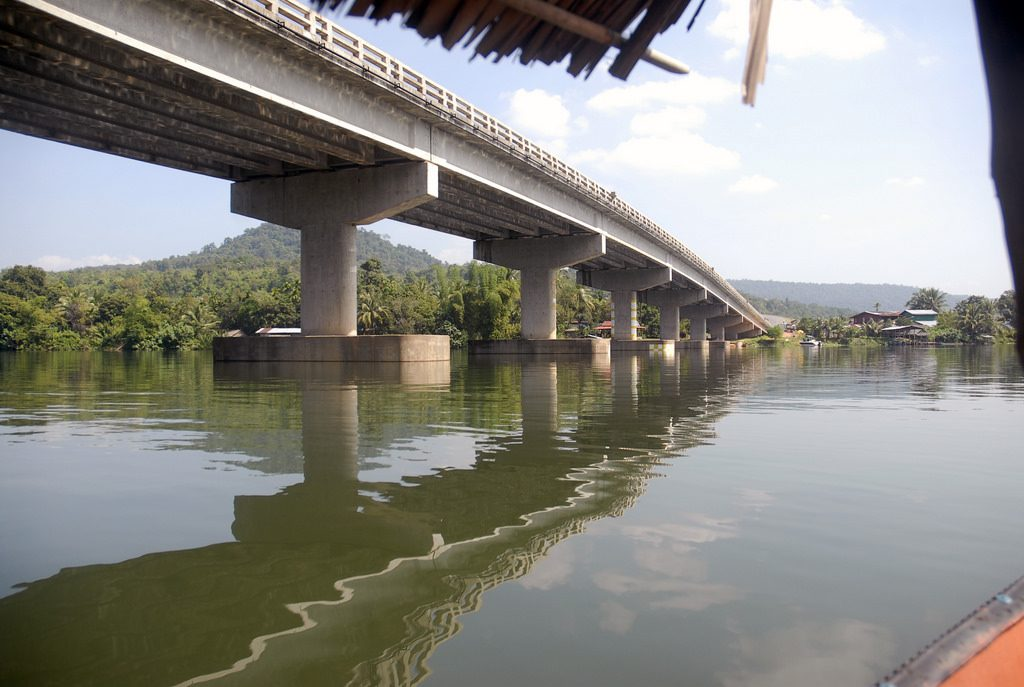 Phum Doung Bridge over the Tatai River.