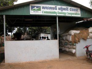 Rural energy cooperative in Cambodia