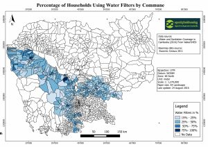 Water and Sanitation Coverage in Cambodia _Water Filter  Distribution%