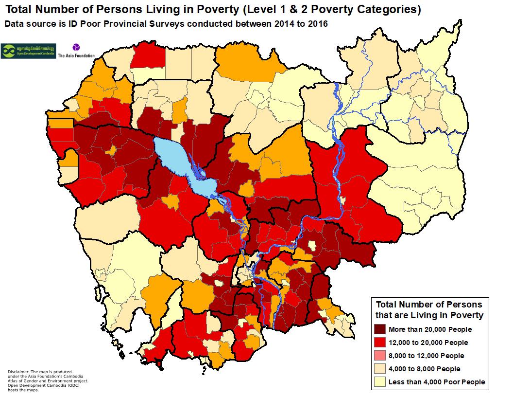 ID Poor - District Population Total