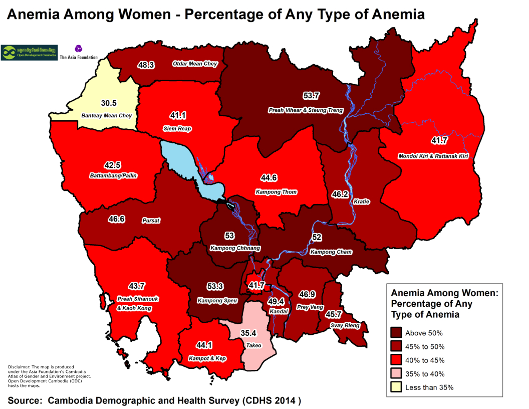 Anemia -Women Any