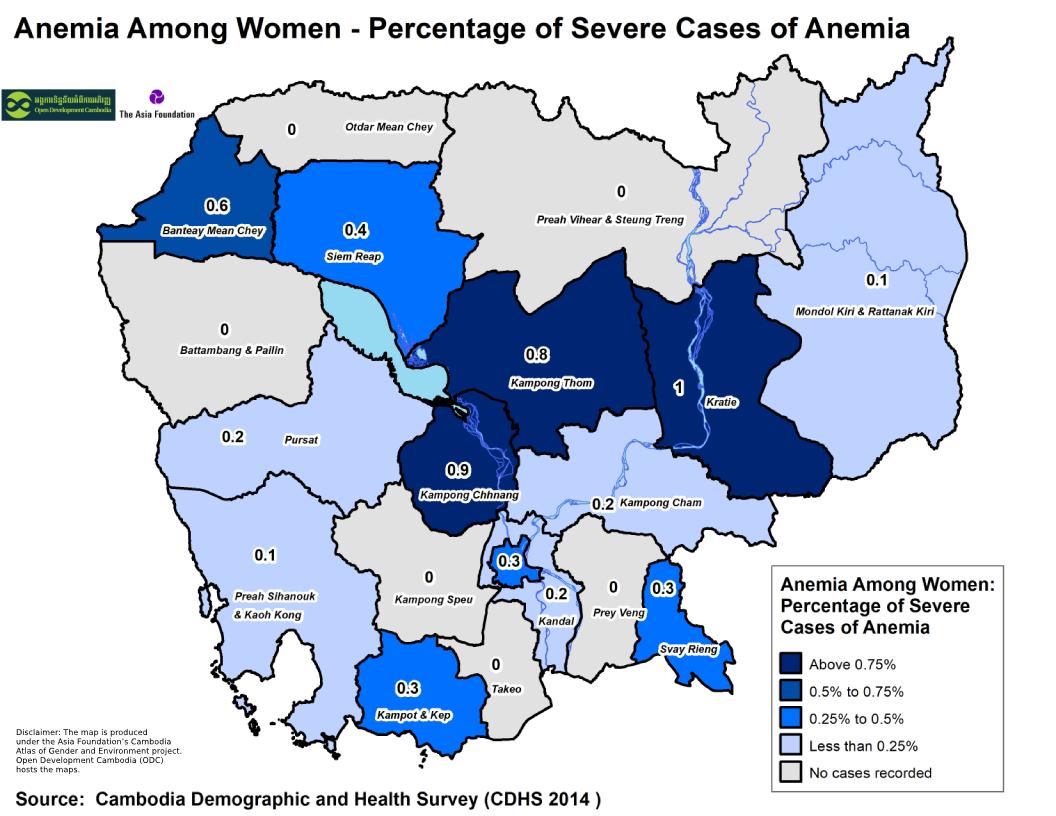 Anemia -Women Severe